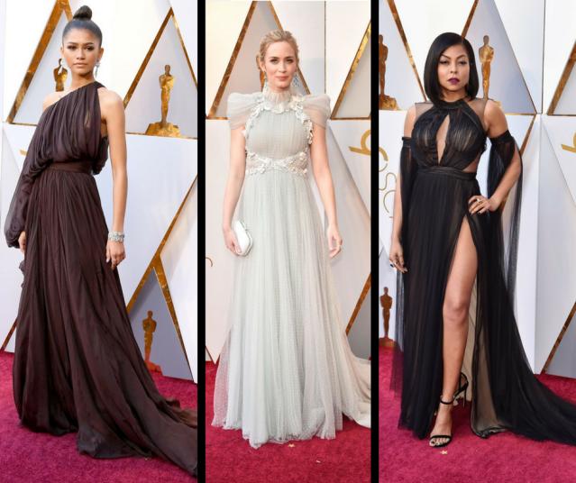 Oscars High Neck Trend