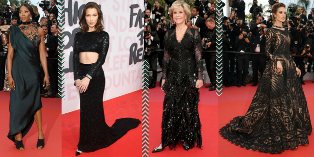 Cannes Trends Black Dress