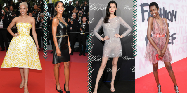 Cannes Trends Short Dress