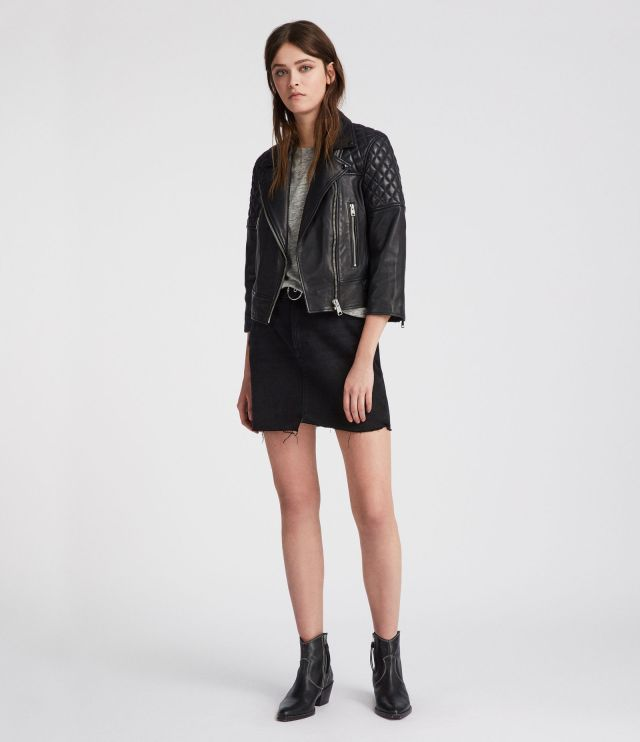 All Sasints- Leather Jacket- £208